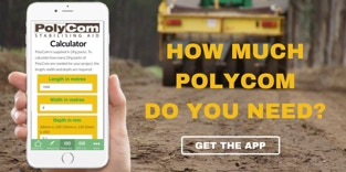 PolyCom Soil stabiliser Phone Calculator App for road workers, works engineers, road crew, works supervisors, engineering managers, road project managers, road mantenance, infrastructure projects.